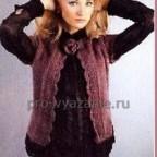 Жакет с коротким рукавом