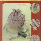 Как связать сумку крючком