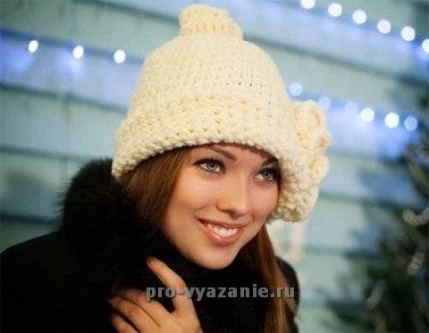 "Женская шапка ""Парижанка"""