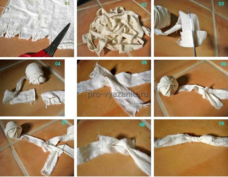 Вязание из лоскутков. 15 советов + идеи.