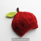 """Вяжем детскую шапочку """"Яблоко"""""""