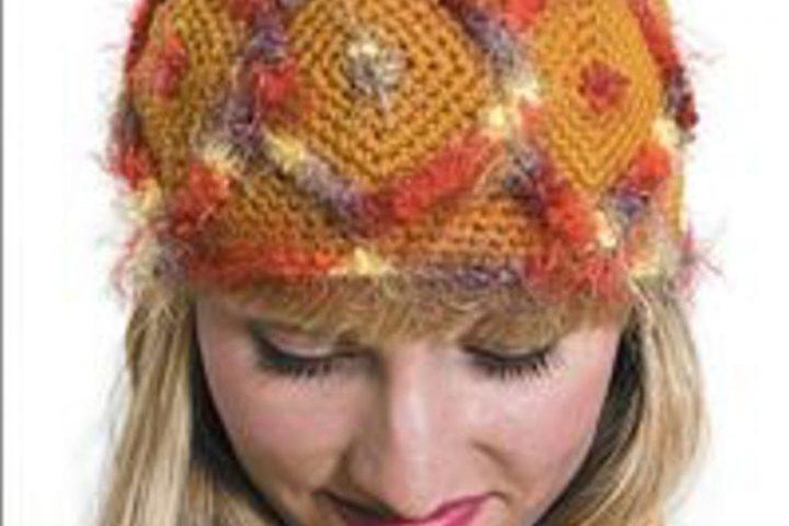 enc185 large 8 - Про вязание: вязаная одежда и аксессуары своими руками - Приёмы вязания головных уборов. Образование плоского круга